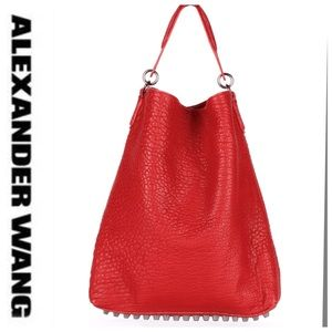 💕SALE💕NWT Alexander Wang Darcy Cayenne Red Bag